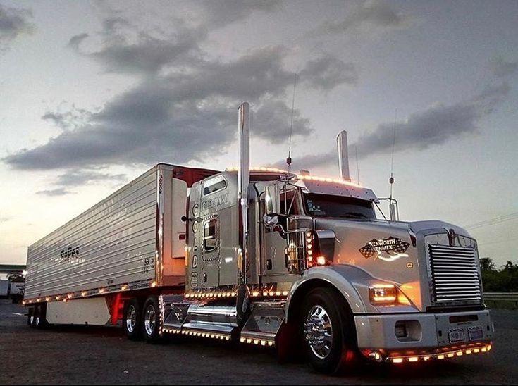 Kenworth T800 Camiones Kenworth Camiones Grandes Personalizados Camiones Grandes
