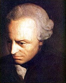 Immanuel Kant is one of my favorite philosophers... he tried to unite diverse opinions of the world.