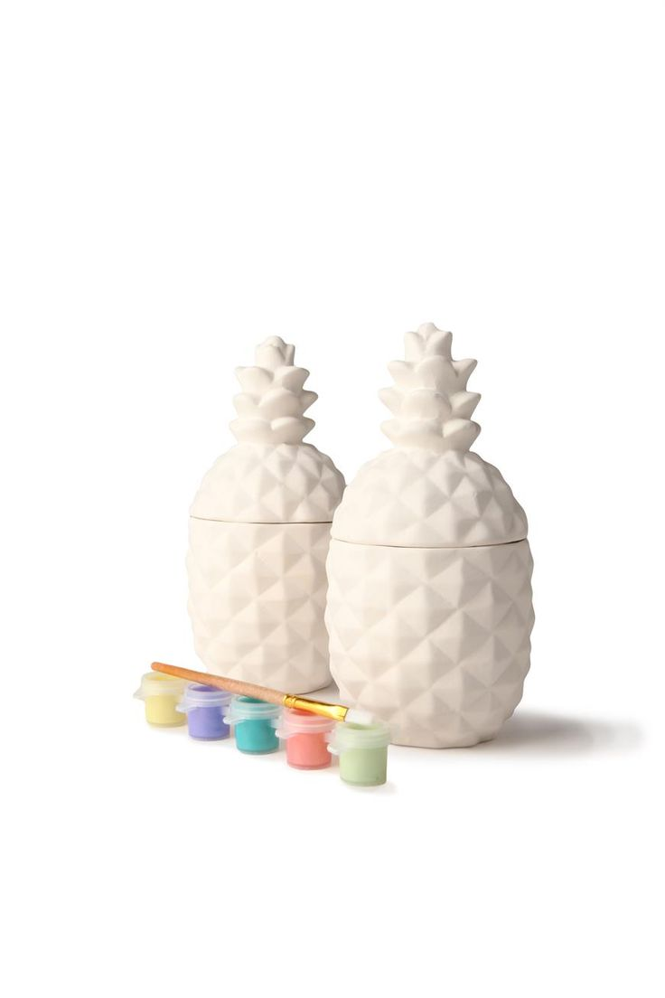 paint your own plaster large, PINEAPPLES from @typoshop @westfieldnz