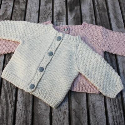 Yndlings Cardigan I Engleuld Str. 0-5 ÅR | Tusindfryd
