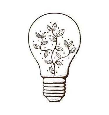 Resultado de imagen para light bulb art drawing