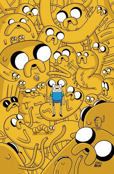 88 best adventure time images on pinterest cartoon clothes and finn and jake too many jakes wallpaper for iphone 6 voltagebd Images