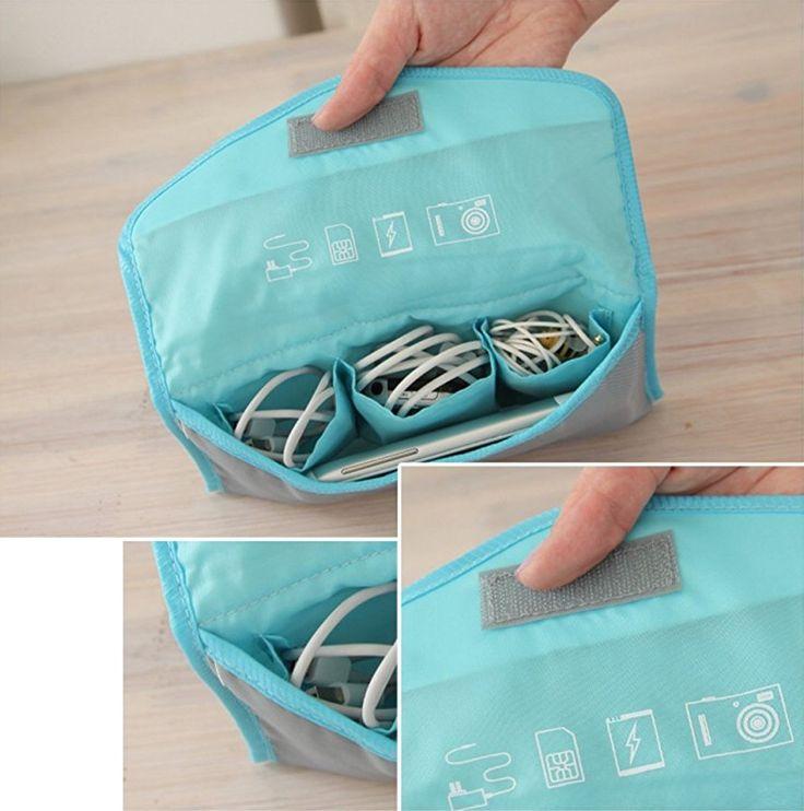 Das Rundum-Sorglos-Paket für die Reise. Ein 6-teilges Packtaschen und -beutel-Set. Drei Packwürfel organisieren die Klamotten im Koffer. Zwei Beutel nehmen getragene Schmutzwäsche auf, ein dritter bietet Platz für all die Kabel, Ladegeräte und technischen Kleinkram, der bei einer Reise anfällt. Hier klicken für mehr Info: http://amzn.to/2tWMUIu