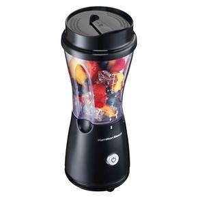 Hamilton Beach Single-Serve Blender with Travel Lid - 51131 Convenient drinks a...