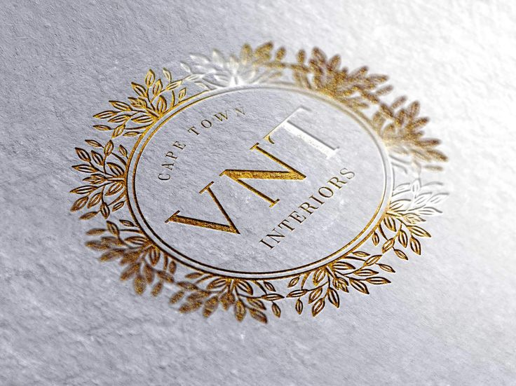 Logo design for VNT Interiors by Pink Pigeon Graphic Design © www.pinkpigeon.co.za