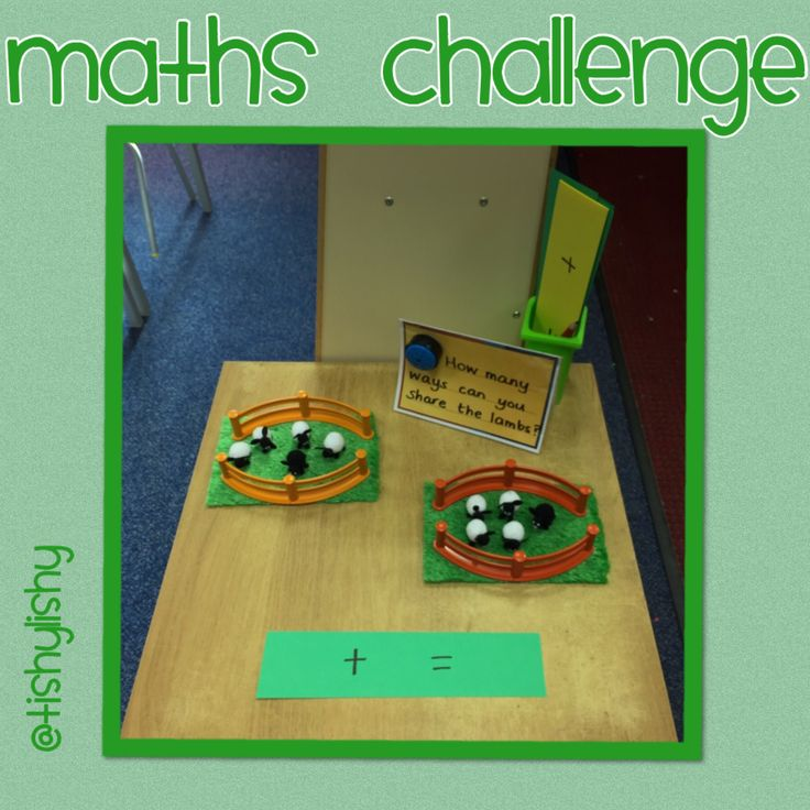 Maths challenge exploring the concept of sharing. Includes opportunities for writing number sentences.