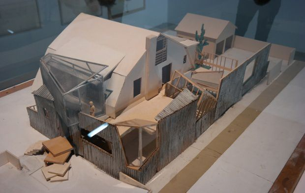 Scale Model, Gehry's House, Santa Monica