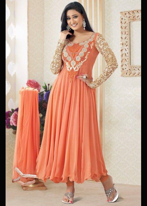 Shweta Tiwari Designer Anarkali Salwar Suit . Buy at  - http://gravity-fashion.com/16001-shweta-tiwari-designer-anarkali-salwar-suit.html