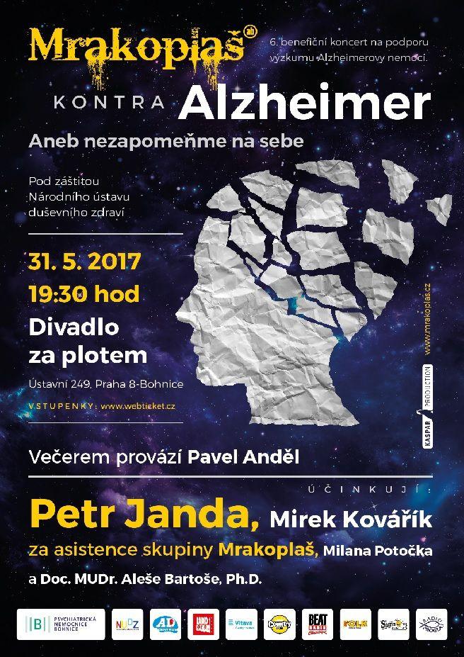 6. ročník benefičního koncertu Mrakoplaš kontra Alzheimer je za humny...