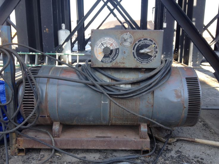 Old 1950 Lincoln DC 800 amp welder that I still use everyday
