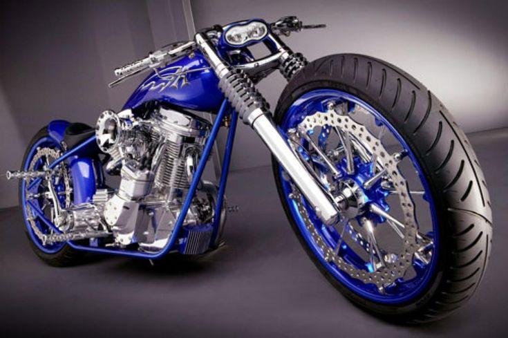 Blue Harley-Davidson  | http://www.world-lolo.com/images/uploads/image.num1256482537.of.world ...