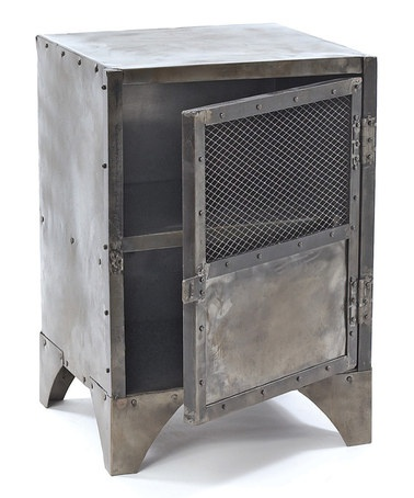 Take a look at this Vintage Steel Shoe Locker by GO Home on #zulily today!