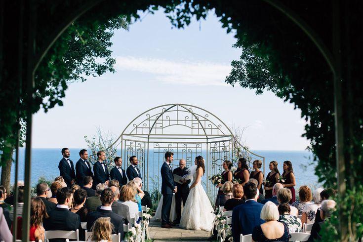 Toronto Hunt club wedding ceremony