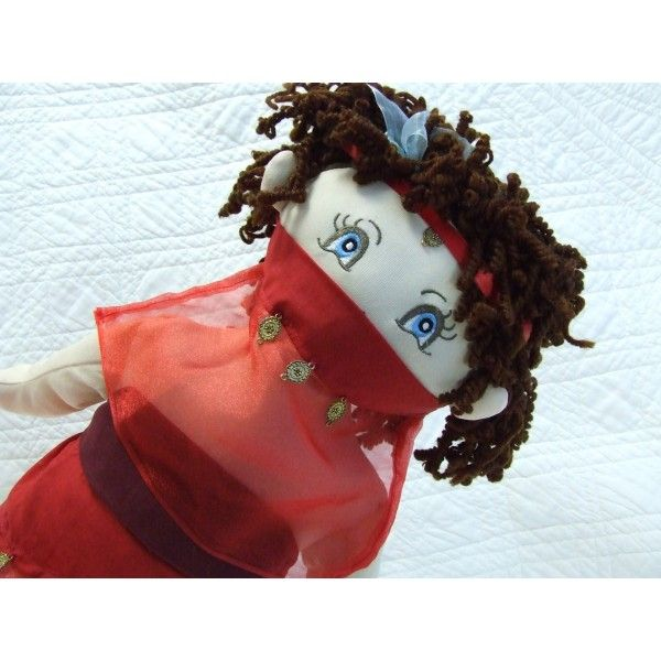 """18"""" Rag Doll - Turkish Belly Dancer"""