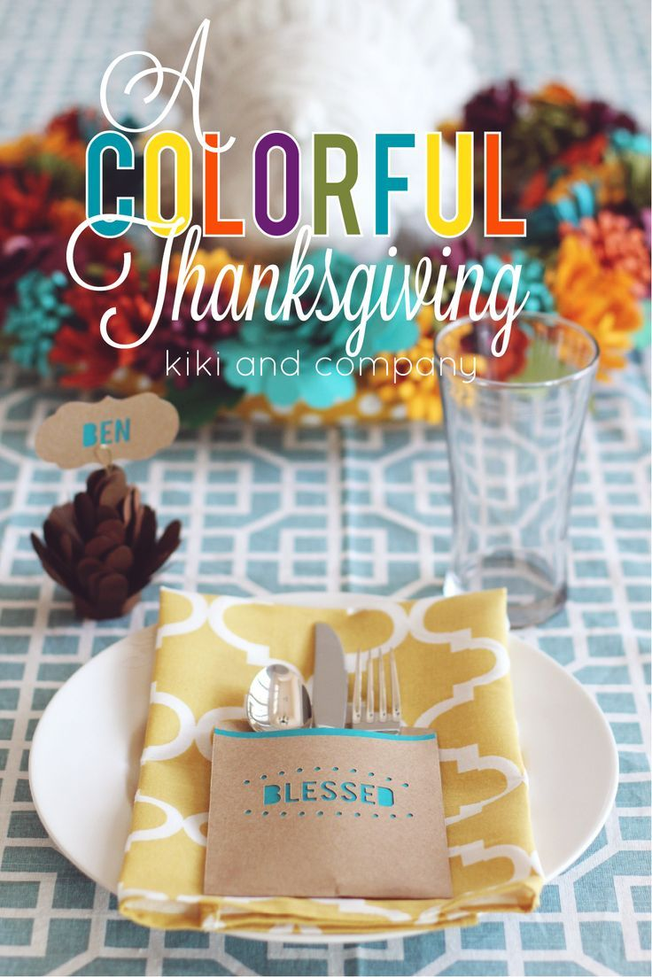 A colorful thanksgiving ideas to make your