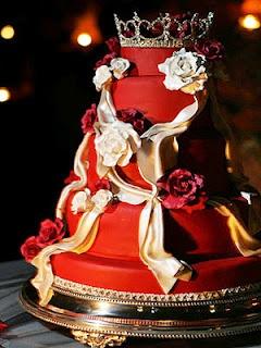 A royal wedding cake