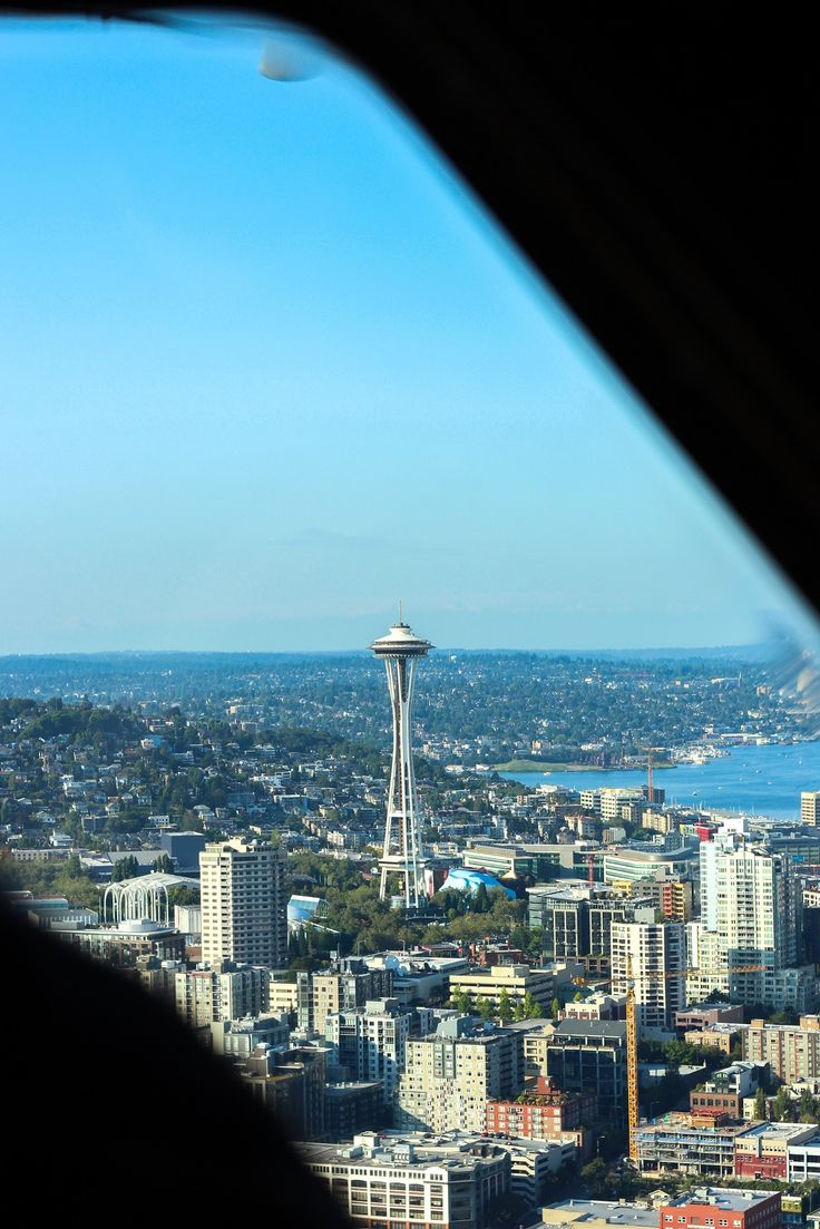 Seattle Map Lake Union%0A Flying in a Seaplane over Beautiful Seattle with Kenmore Air  Air FlightsLake  UnionWest