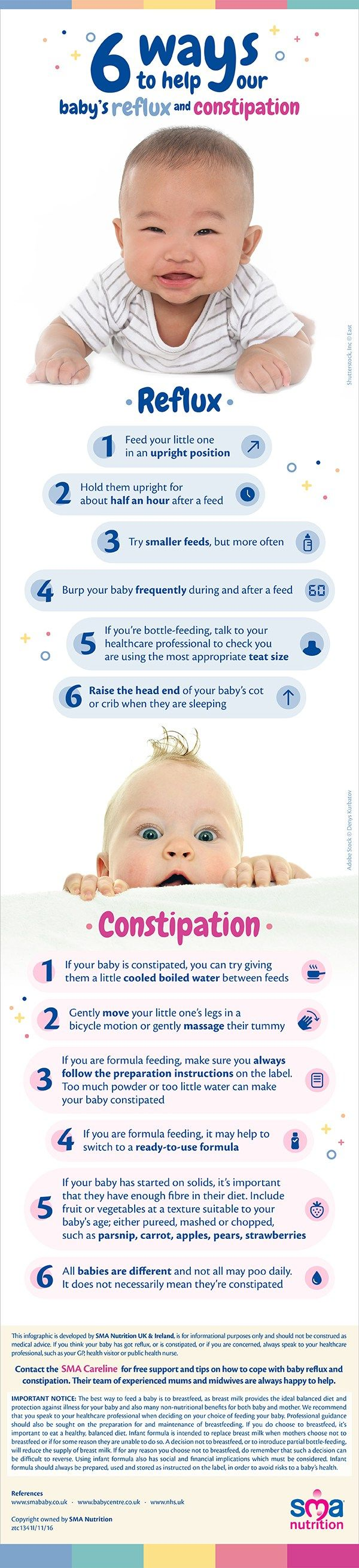Reflux can be tough for you and baby we are collaborating with SMA Nutrition to bring you a few ideas that may help ease those early baby feeding issues #ad