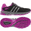 Femmes Chaussures de trailDuramo 5, Black / Vivid Pink / Neo Iron Met.