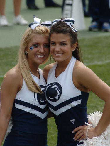 PENN STATE – FOOTBALL 2012 – cute cheerleaders