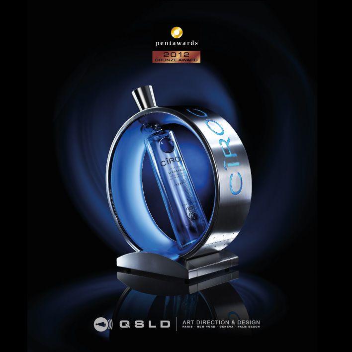PENTAWARDS 2012 Bronze Award - CIROC Vodka - Design by QSLD