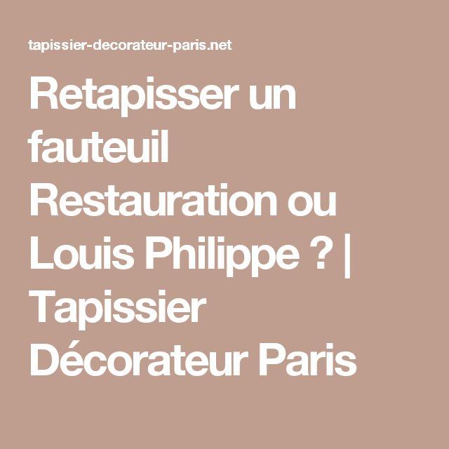 Les 25 meilleures id es concernant tapissier d corateur - Tapissier decorateur paris ...