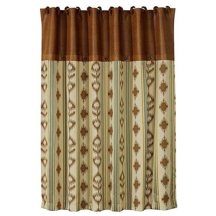 Alamosa Southwestern Shower Curtain Reflects Subtle Splendor Of Its  Namesakeu0027s Breathtaking Vistas With An Array Of Sun Baked Desert Hues U0026 A  Deep Teal Blue