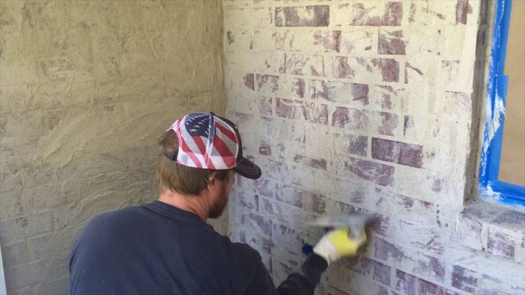 How to German Smear Brick Home