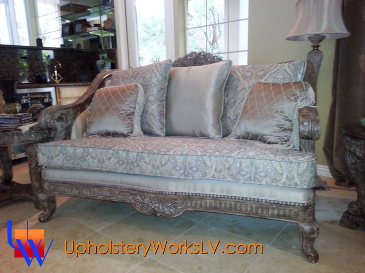 Vintage Sofa By Upholstery Works. Las Vegas, NV Http://www.