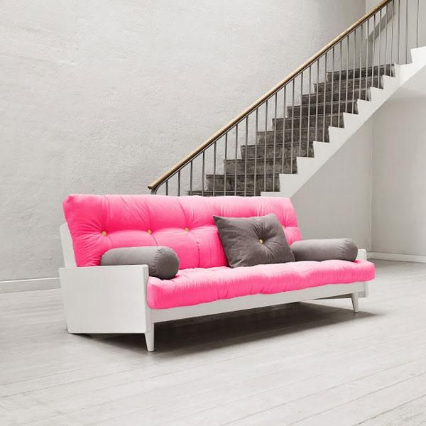 Sofá cama Indie magenta
