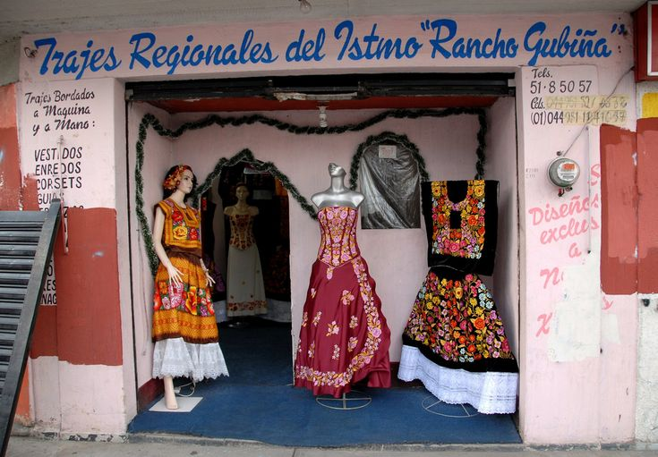 Textiles of Oaxca -  The state of Oaxaca in southern Mexico has a noteworthy tradition of finely crafted textiles, particularly handmade embroidery and woven goods that frequently utilize a backstrap loom. Oaxaca is home to several different groups of indigenous peoples, each of which has a distinctive textile tradition.