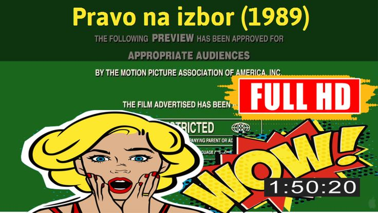 Watch Pravo na izbor (1989) Movie online : http://movimuvi.com/youtube/OWRoZ2h4UWhzcGU3UDIyNUtjaGlIUT09  Download: http://bit.ly/OnlyToday-Free   #