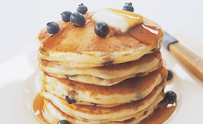 Surprising your mom with breakfast in bed this weekend? Make sure to try our light and fluffy Classic Pancake recipe!