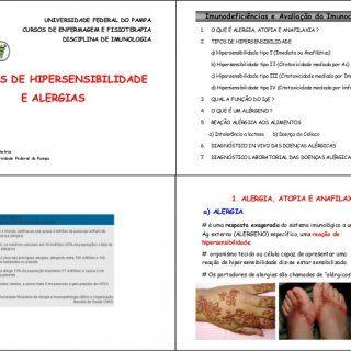 UNIVERSIDADE FEDERAL DO PAMPA Imunodeficiências e Avaliação da Imunocompetência CURSOS DE ENFERMAGEM E FISIOTERAPIA  O QUE É ALERGIA, ATOPIA E ANAFILAXIA. http://slidehot.com/resources/reaes-de-hipersensibilidades-e-alergias-imunologia.35989/