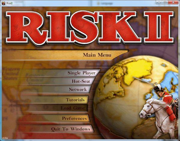 Risk IIes un videojuego de estrategia por turnos la cual eslaversión enlíneadel clásicojuego de mesaRisk. DesarrolladoporDeep RedypublicadoporHasbro Interactivebajo el sello deMicroProseen el año2000.    Al momento de jugar tu eres el comandante en Jefe de un gran
