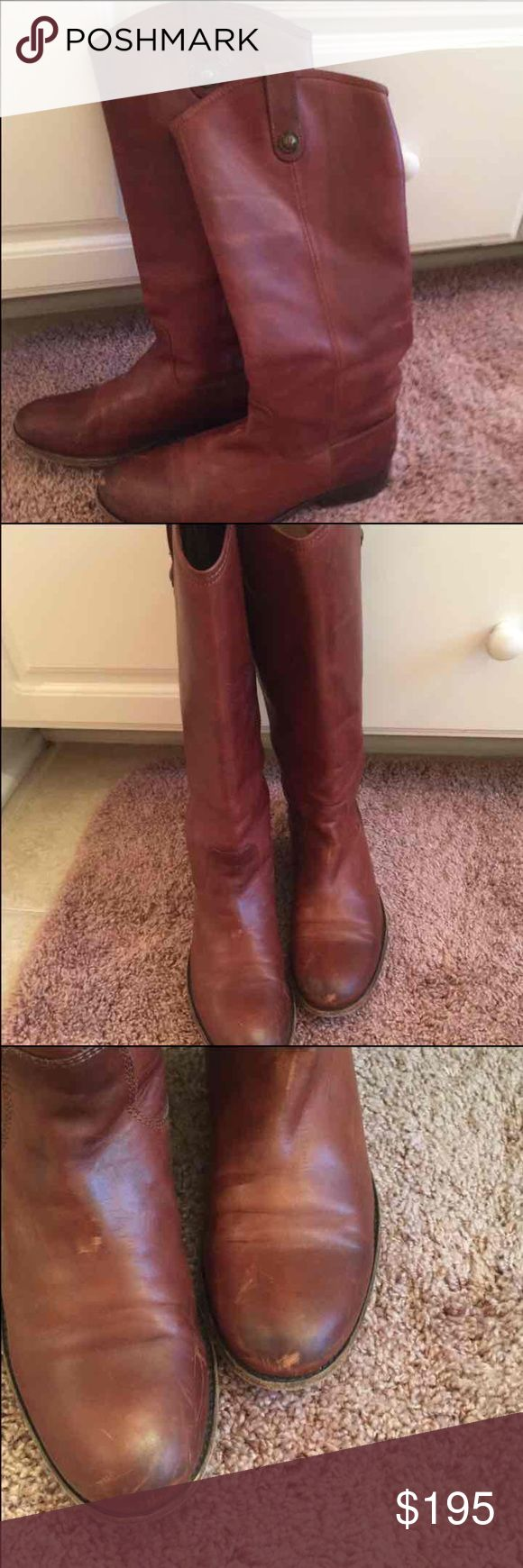 Frye Melissa Button Boots Frye Melissa Button Boots in cognac Frye Shoes