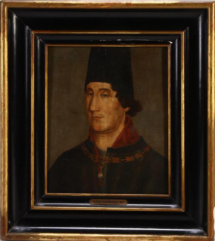 Infante D. Pedro de Avis, oficina de Nuno Gonçalves.