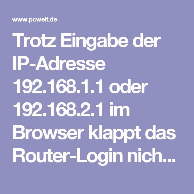 Trotz Eingabe der IP-Adresse 192.168.1.1 oder 192.168.2.1 im Browser klappt das Router-Login nicht? Wir bringen Sie in 7 Schritten ins Router-Menü.  Heutzutage ist es deutlich einfacher, einen neuen Router einzurichten, als den alten zu konfigurieren. Neue WLAN-Router kommen mit aktiviertem und bereits gesichertem WLAN daher. Das Passwort finden Sie zumeist auf einem kleinen Aufkleber auf der Unterseite des Geräts. Auf einigen dieser Aufkleber steht gar noch der Benutzername, das Passwort…