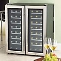 Dual Zone Wine Coolers & Wine Refrigerators  A dual zone wine cooler has two temperature compartments, creating the ideal storage environment for both red and white wines. With a dual zone wine refrigerator you can finally be confident that your wine is stored properly - enhancing the life and flavor of your wine!