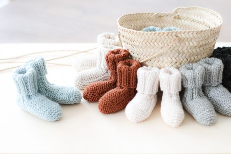 Chaussons naissance  Création taowithgranny©