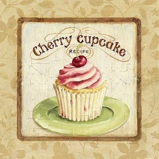 Coisinhas da Cris: Wall Art, Vintage Posters, Printable, Crosses Stitches Patterns, Cupcakes Boxes, Decoupage, Cupcakes Rosa-Choqu, Cherries Cupcakes, Crafts