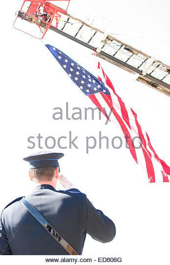 pictures of firefighters saluting the american flag | American Military Police Stock Photos & American Military Police Stock Images - Alamy