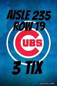 Chicago Cubs vs St. Louis Cardinals Tickets 07/23/17 (Chicago)  | eBay