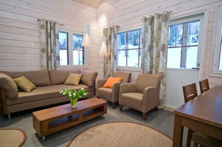 Holiday Club Salla Sallan Tähti semi-detached houses are the newest pride and joy in the world of Holiday Club. Decorated with high-quality...