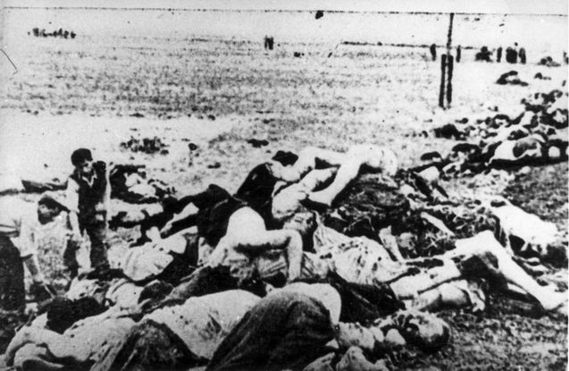 """""""Yassy pogrom of June 27, 1941 was one of the most violent pogroms in Jewish history, launched by governmental forces in the Romanian city of Iaşi (Yassy) against its Jewish population, resulting in the murder of at least 13,266 Jews, according to Romanian authorities."""