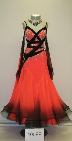 Red Ballroom Dresses | Ballroom Costume- The Beginning