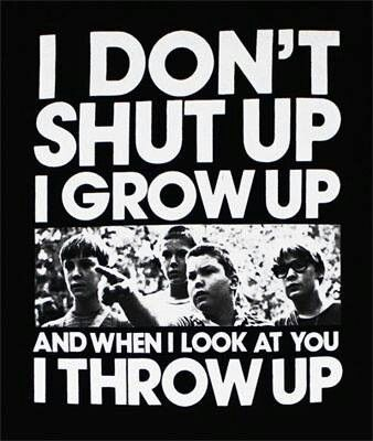 Stand by me... I used to say this all the time lol