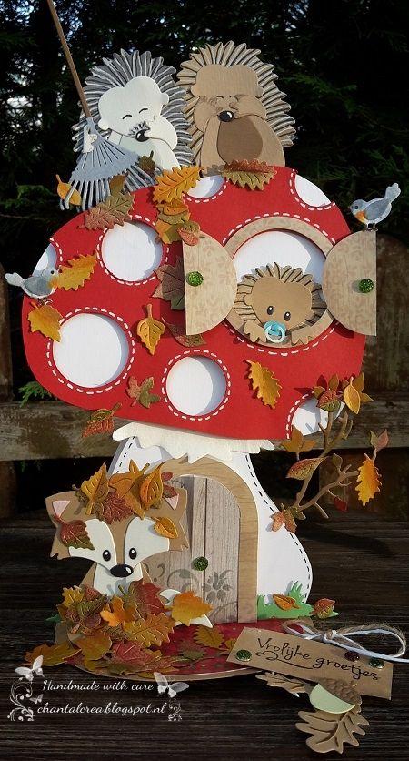 Chantals Crea Blog: Op een grote paddenstoel ...