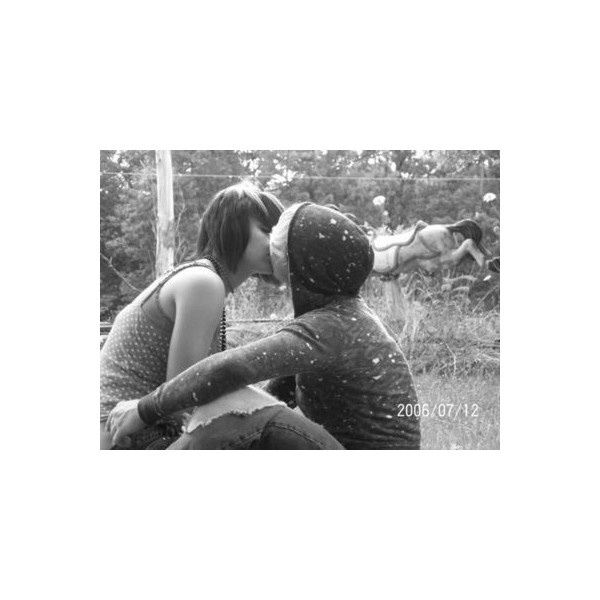 love / Cute Emo Couples - Emo Bucket ❤ liked on Polyvore