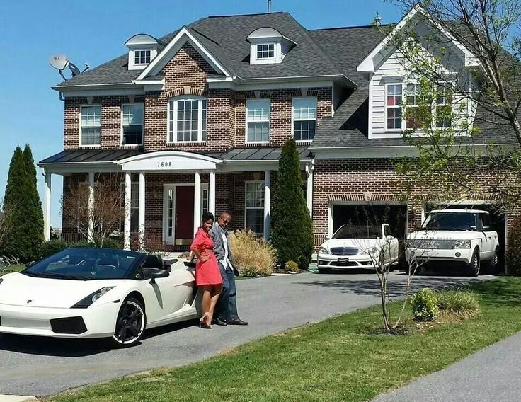 Modren Luxury House And Car Find This Pin More On Cars Intended Ideas